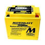 MotoBatt MBTX12U AGM Quadflex Battery
